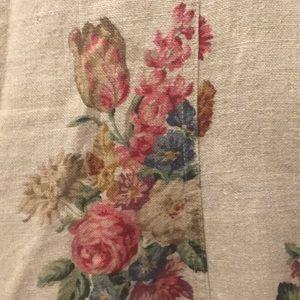 Gorgeous Pure Linen Floral Dress